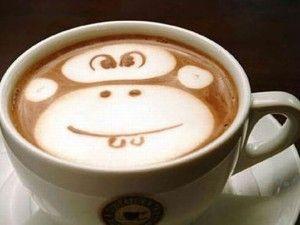 Monkey Face Coffee Art cover photos