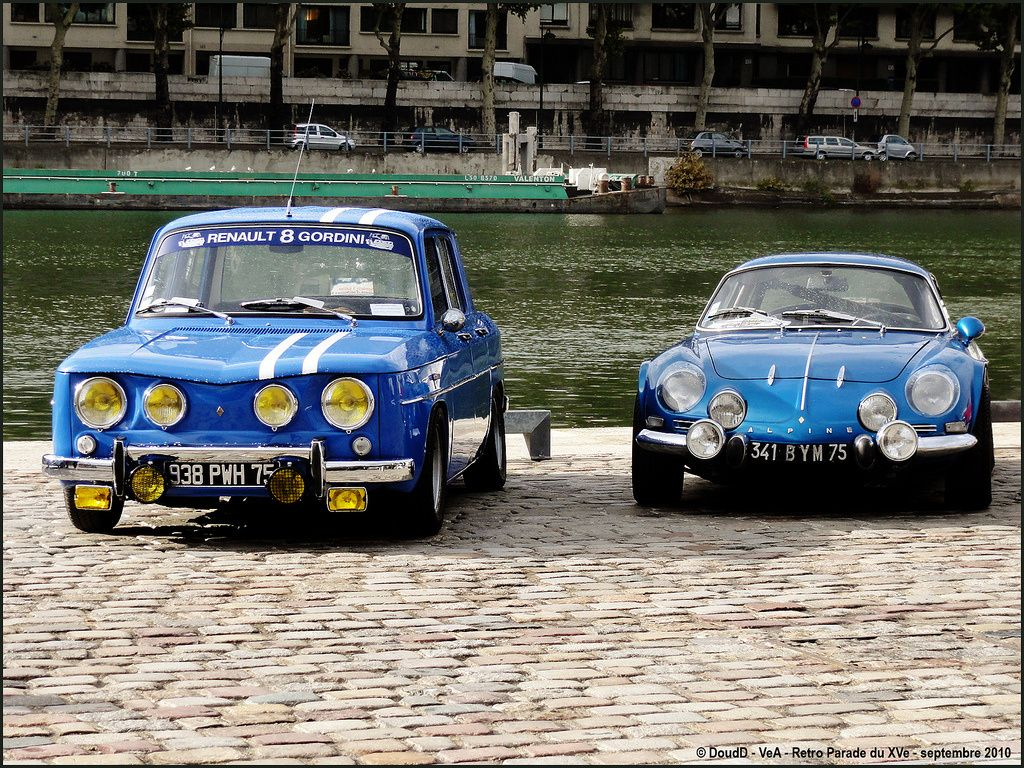 renault 8 gordini alpine a110 renault sportives renault alpine a110 et alpine renault. Black Bedroom Furniture Sets. Home Design Ideas