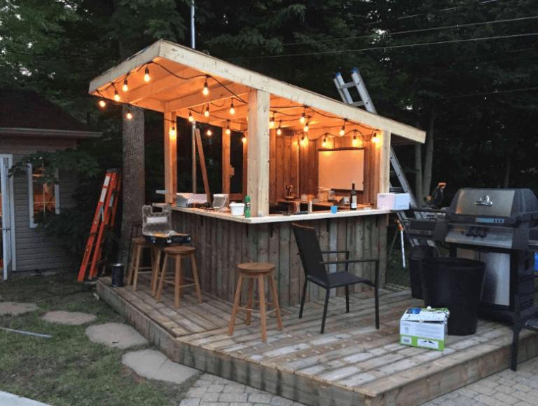 13 Creative Outdoor Bar Ideas For Your Backyard Inspiration Outdoor Patio Bar Tiki Bars Backyard Diy Outdoor Bar