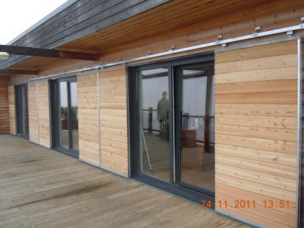 Installation Menuiseries Volets Roulants Gers Storea2 Volets Coulissants Bois Home Decor Home Outdoor Decor