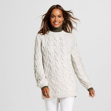 Women's Marled Cable Pullover Sweater - Merona™ | For the walk-in ...