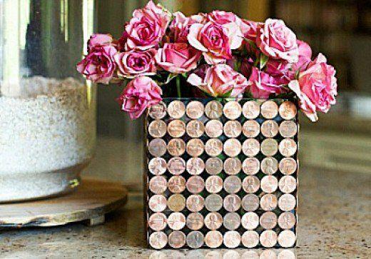 41 Ways To Reuse Old Vases Craft Ideas Penny Decor Vase Crafts