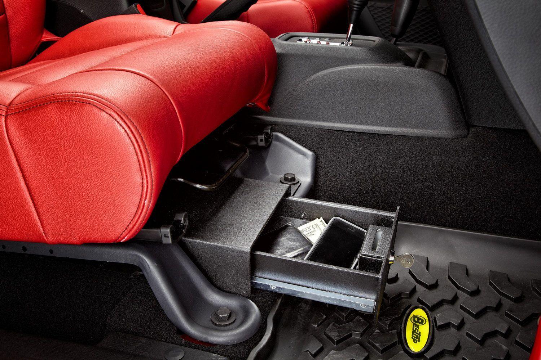 Bestop S New Locking Under Seat Storage Box For Jk Securely Locks