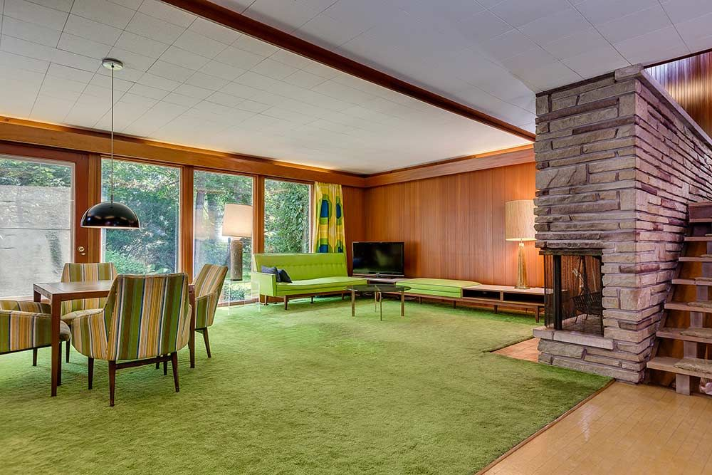 Stunning mid-century modern Toronto time capsule house by architect ...