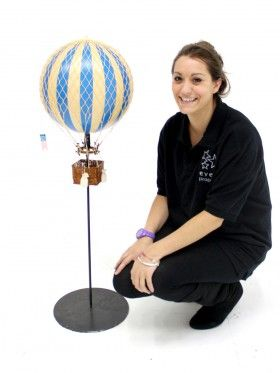 Event Prop Hire: Hot Air Balloon Table Centres