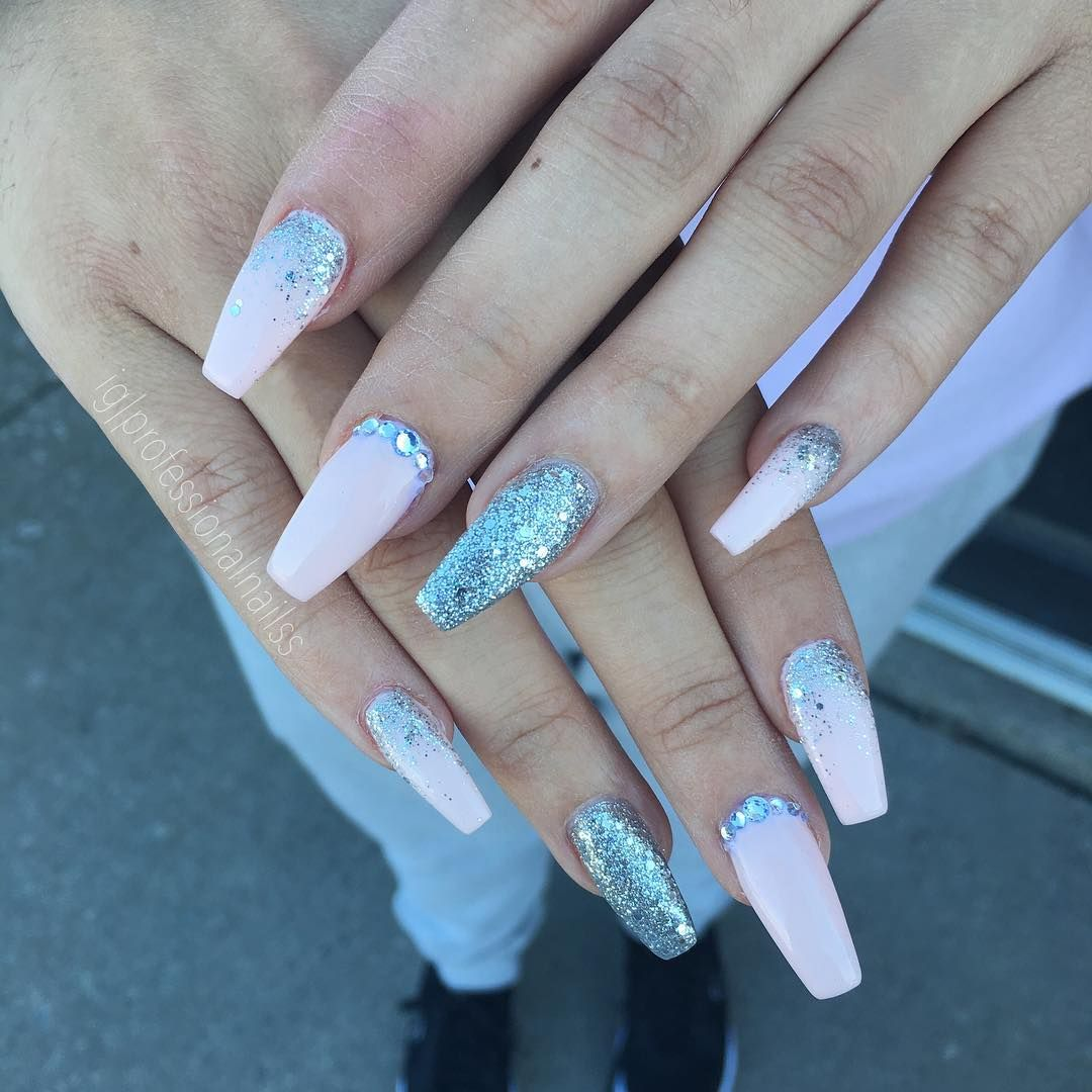 55 Beautiful Summer Coffin Nails Easy To Copy Ballerina Nails Nail Art Hacks Nails