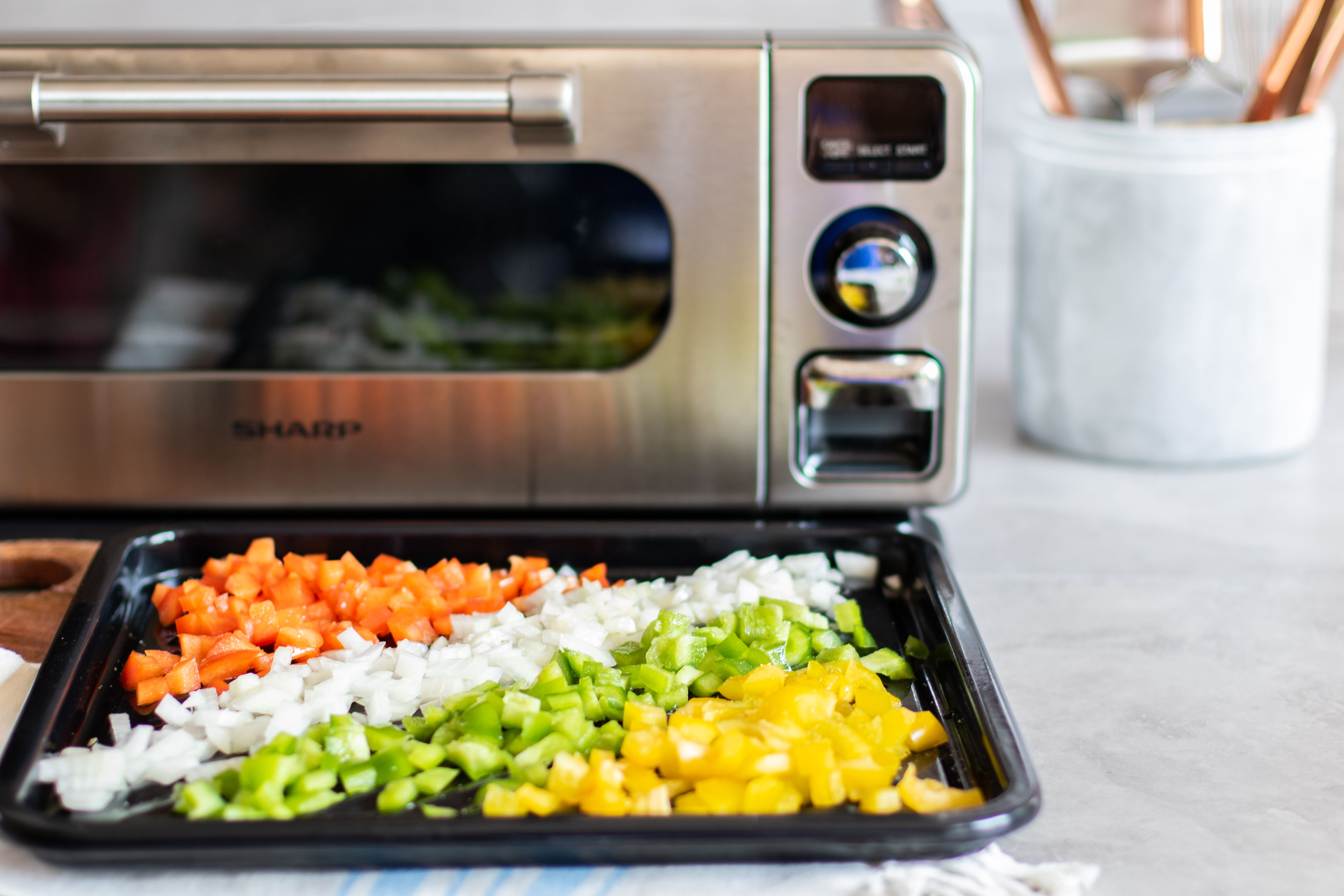 The Sharp Superheated Steam Countertop Oven Has Five Versatile