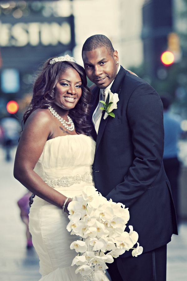 Beautiful African American Wedding Couple Http Www