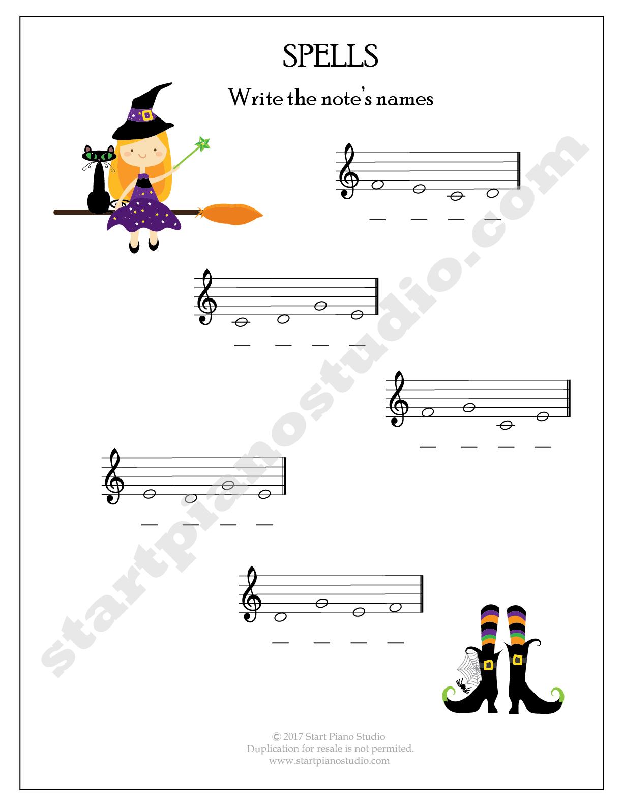 Halloween Theory Printables