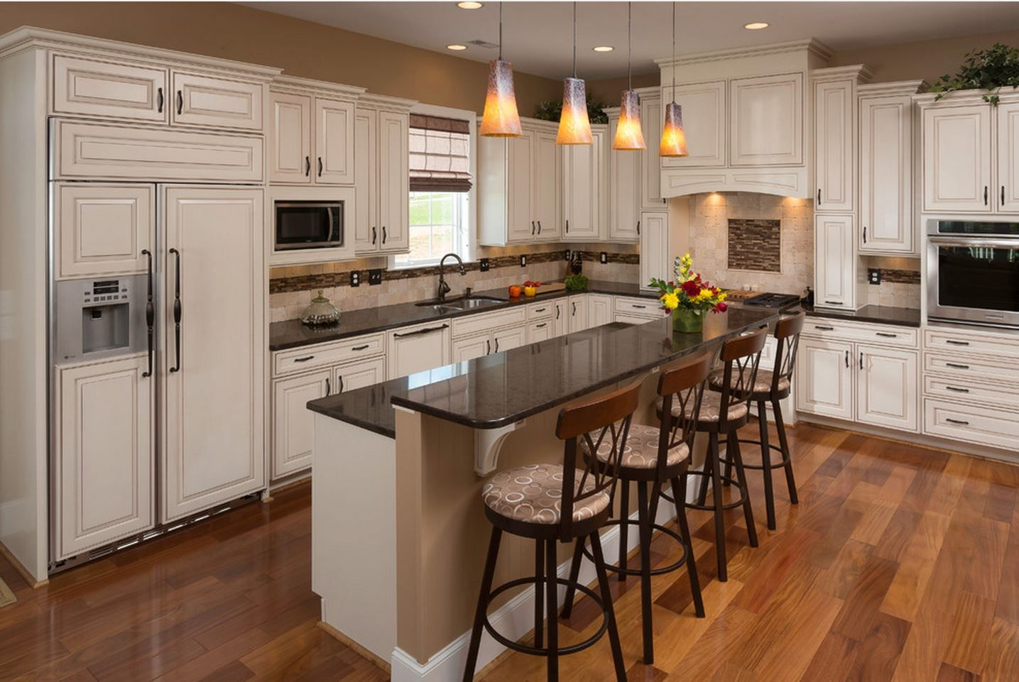 This Beautiful White Kitchen Features Forte Hardware. The Room Was Designed  By Christine Wade Of