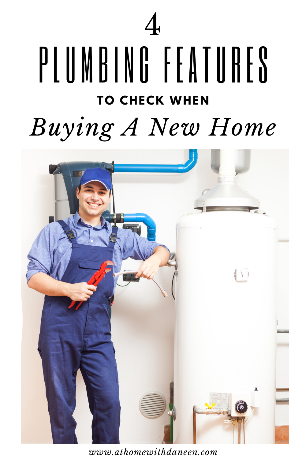 If you're in the market for a new home, then you know how important it is to review its mechanicals like electrical and plumbing.  These are four plumbing features that you should check when buying a new home. 💦🛁🚿🚽 #plumbing #plumbingproblems #plumbingissues #realestate #realtor #homebuying #homesweethome #homebuyer #waterdamage  #newhome #firsttimehomebuyer #househunting #dreamhome