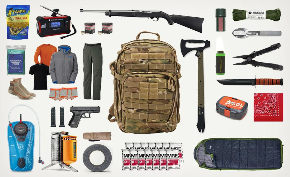 Build Your Own Bug Out Bag Survival Bag Bug Out Bag Essentials Survival Gear