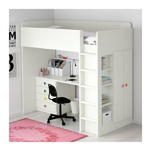 Ikea Bunkbed With Desk Stuva Loft Bed Bed With Desk Underneath Bunk Bed Designs