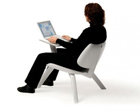 Comfortable Seating Position With Cleanroom Office Chair