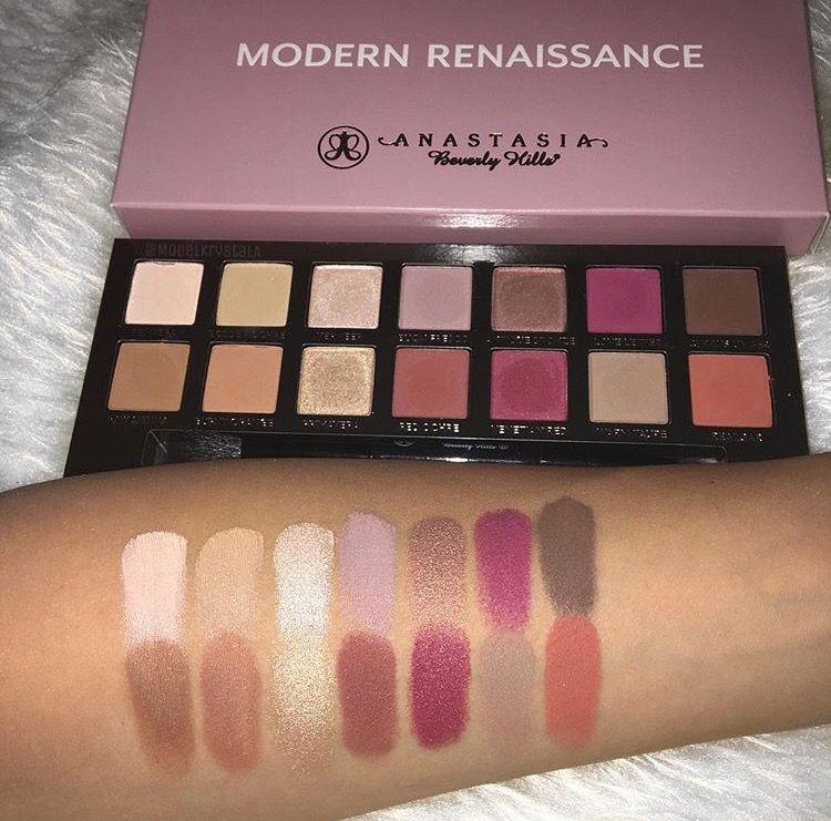 Anastasia Beverly Hills Modern Renaissance Eyeshadow Palette Swatches