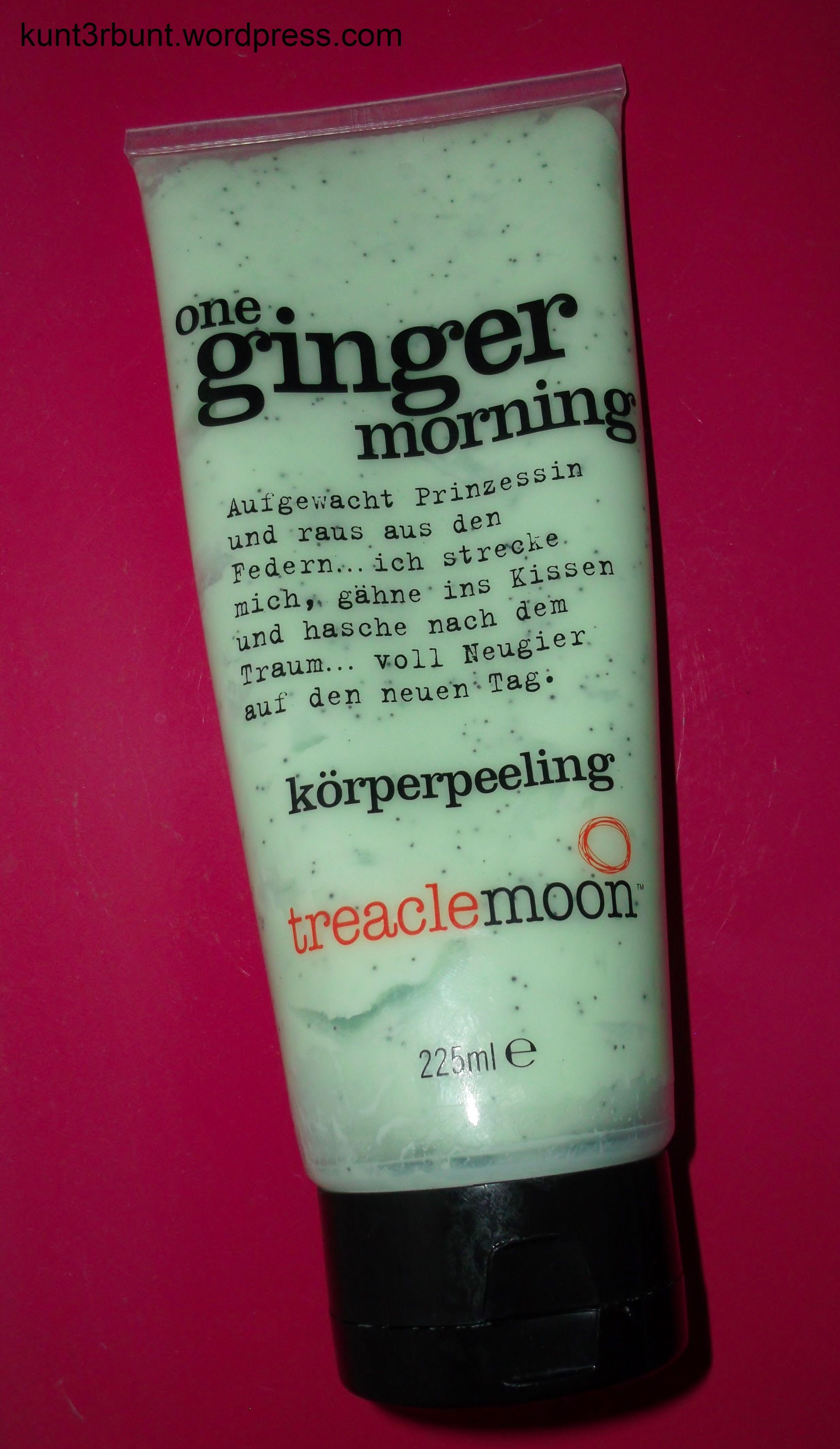 Treaclemoon One Ginger Morning Korperpeeling Treaclemoon