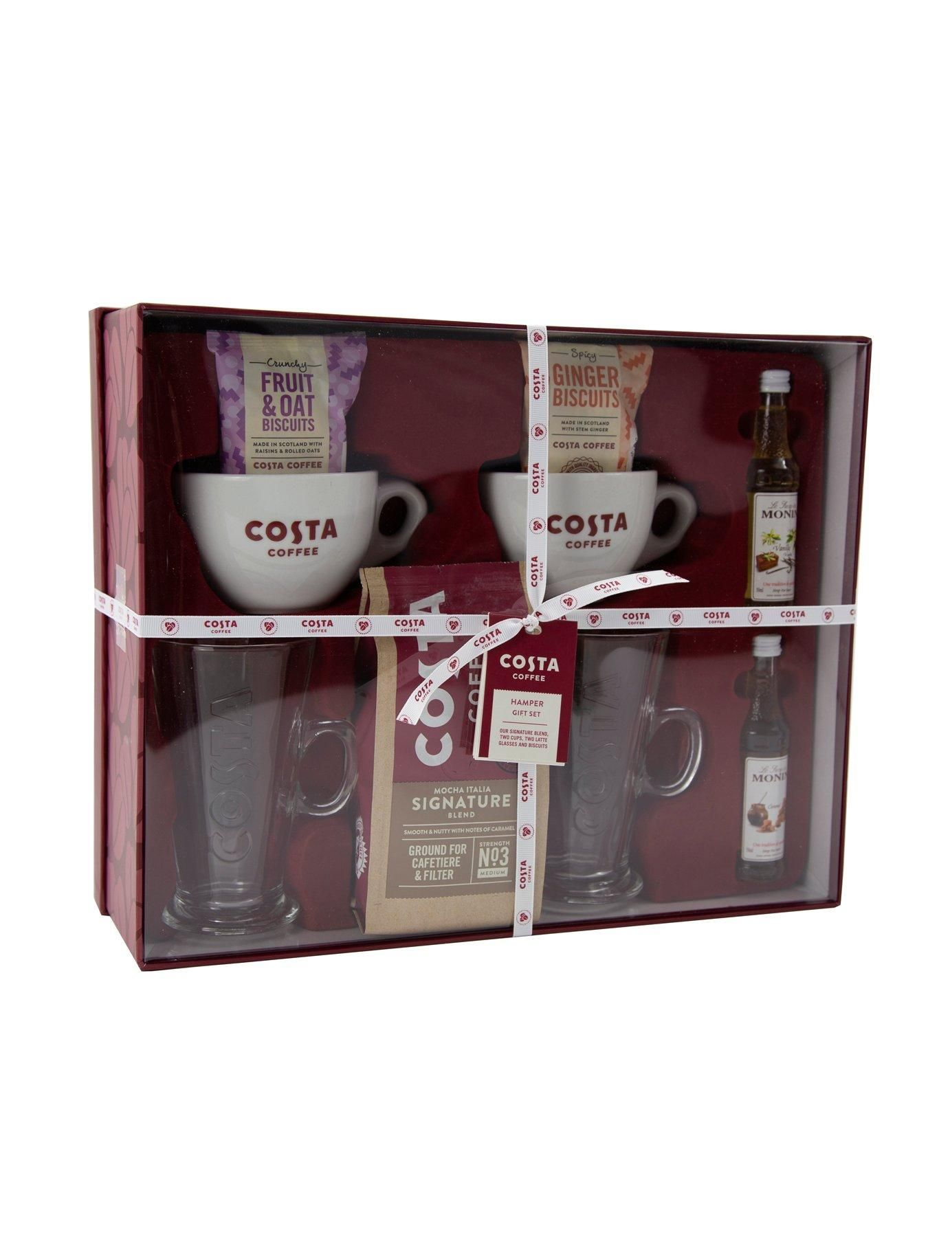 Costa Coffee Hamper Set Coffee hampers, Costa coffee, Hamper