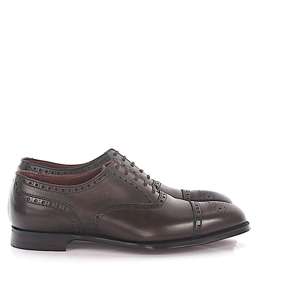 Crockett & Jones Oxford Budapester Barrington leather YWWQk