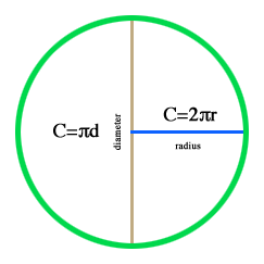 Calculate the Circumference of a Circle   Math