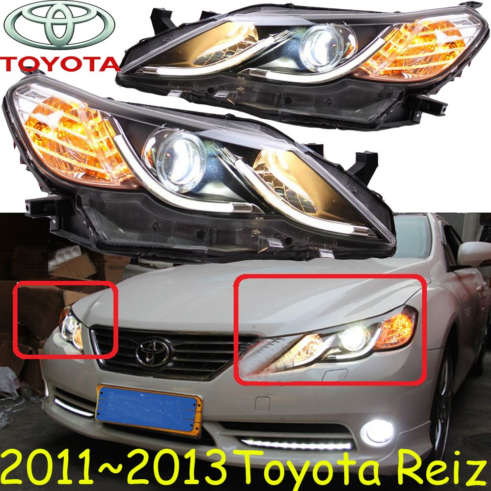Reiz Headlight 2011 2013 Lhd If Rhd Need Add 200usd Free Ship Reiz Fog Light 2ps Set 2pcs Aozoom Ballast Reiz Car Lights Ballast Headlights
