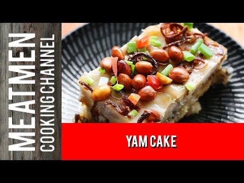 Yam cake the meatmen your local cooking channel yam cake the meatmen your local cooking channel forumfinder Image collections