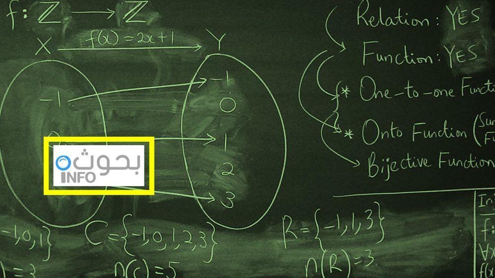 انواع العلاقات في الرياضيات