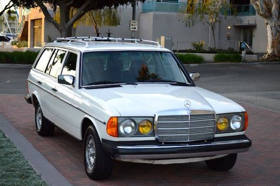 like the 1993 volvo 240 wagon we featured last week, the mercedes