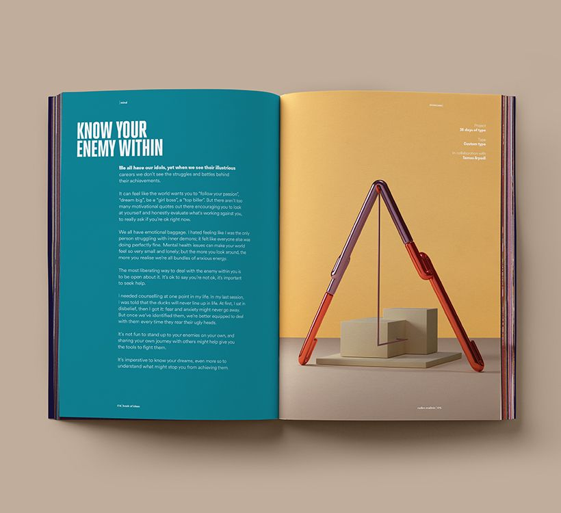 Book of Ideas Vol 2 - Graphic design journal by Radim