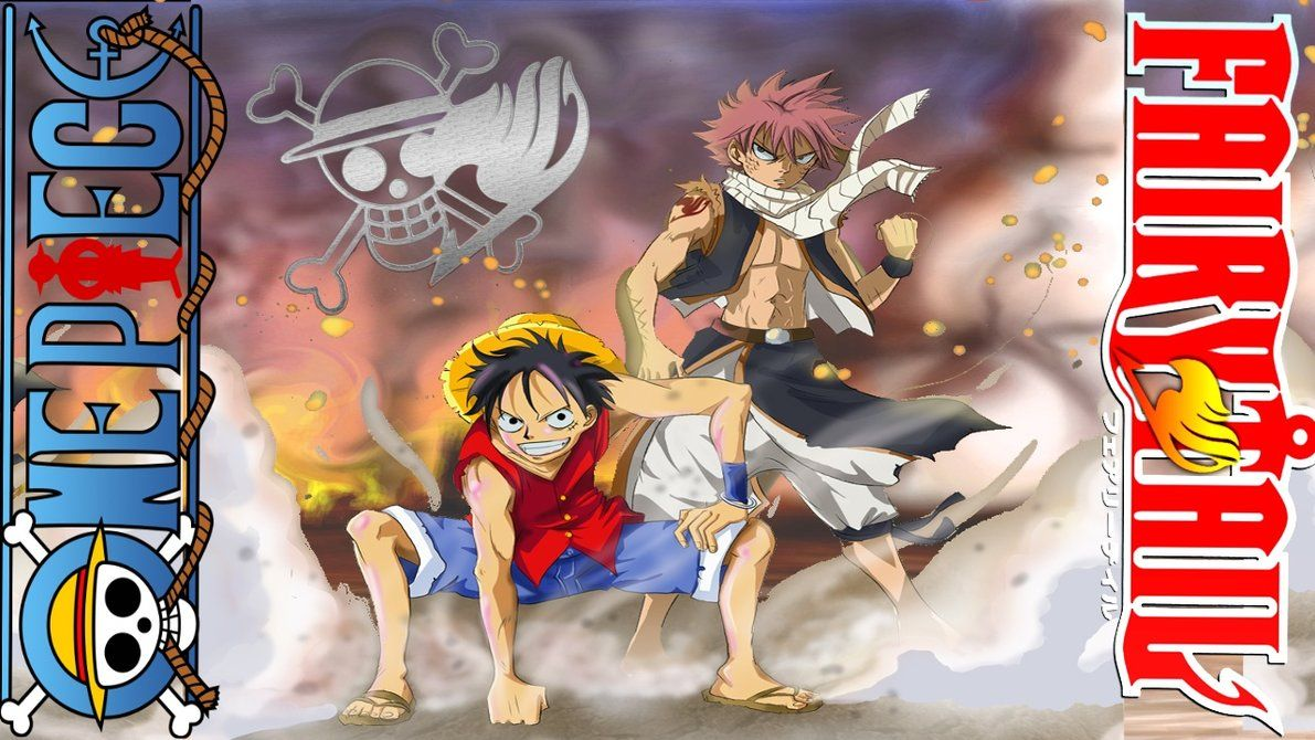One Piece Fairy Tail Wallpaper By Wearfans Dqisc Fairy