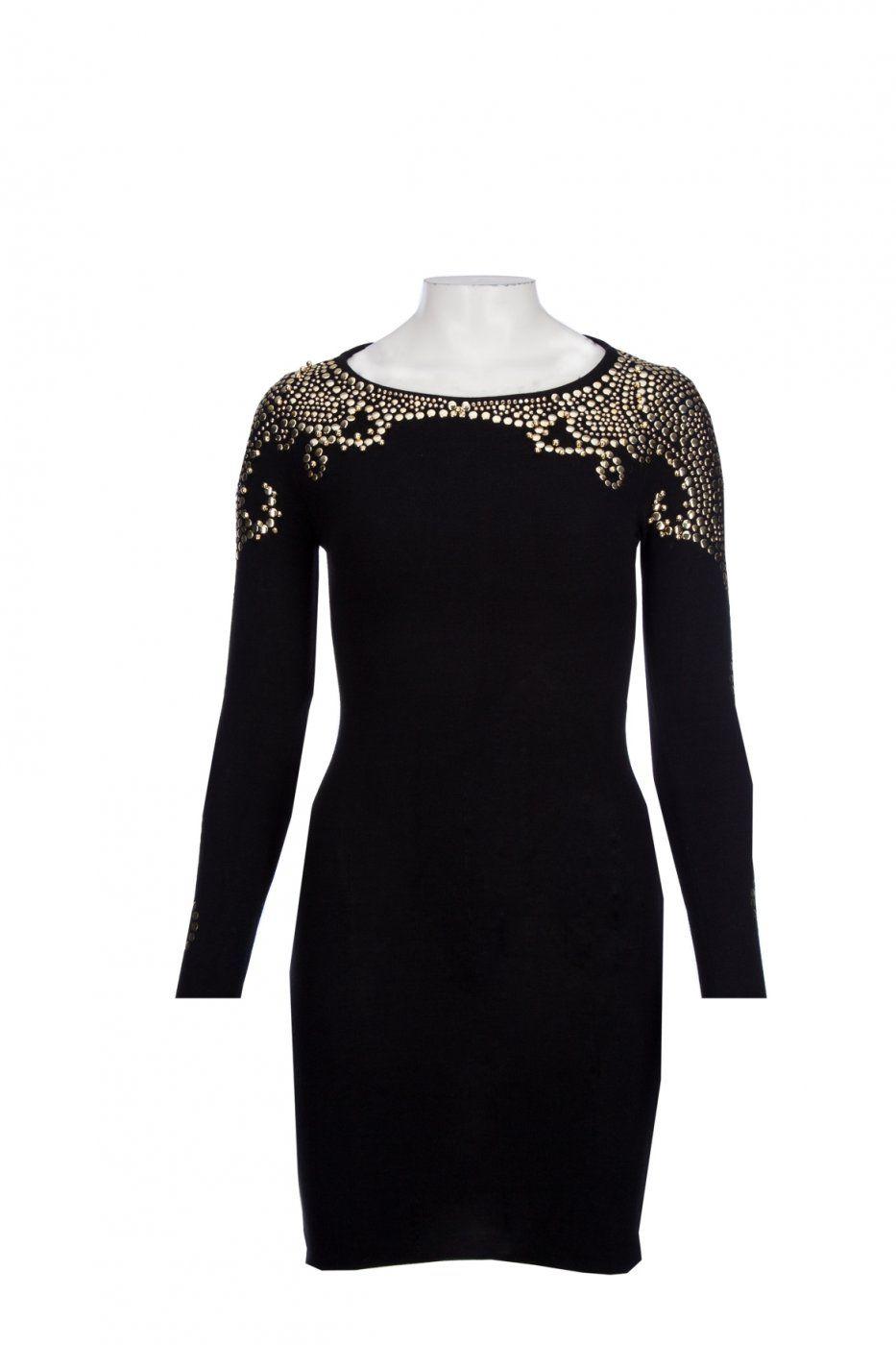 Kleid mit goldenen Nieten - Mädchenflohmarkt | Maybe buy | Pinterest ...