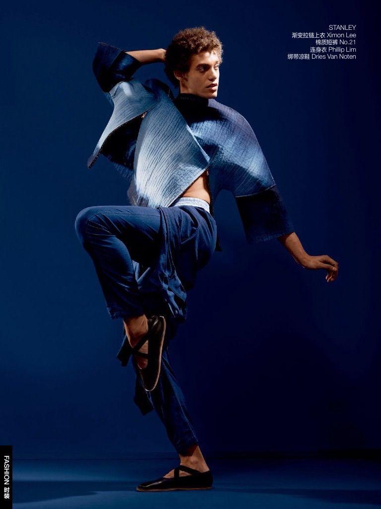 Denim Boys Gq China Denim Fashion Editorial 2015 004 Denim  # Bois En Chaene