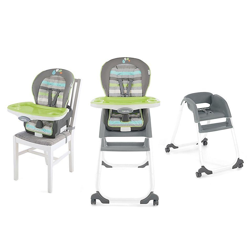Ingenuity Trio Elite 3 In 1 High Chair In Vesper Green Toddler