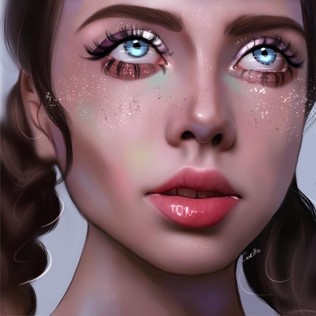 Ruby Caurlette Caurlette Fotos Y Videos De Instagram Digital Portrait Art Digital Artist Digital Art Girl
