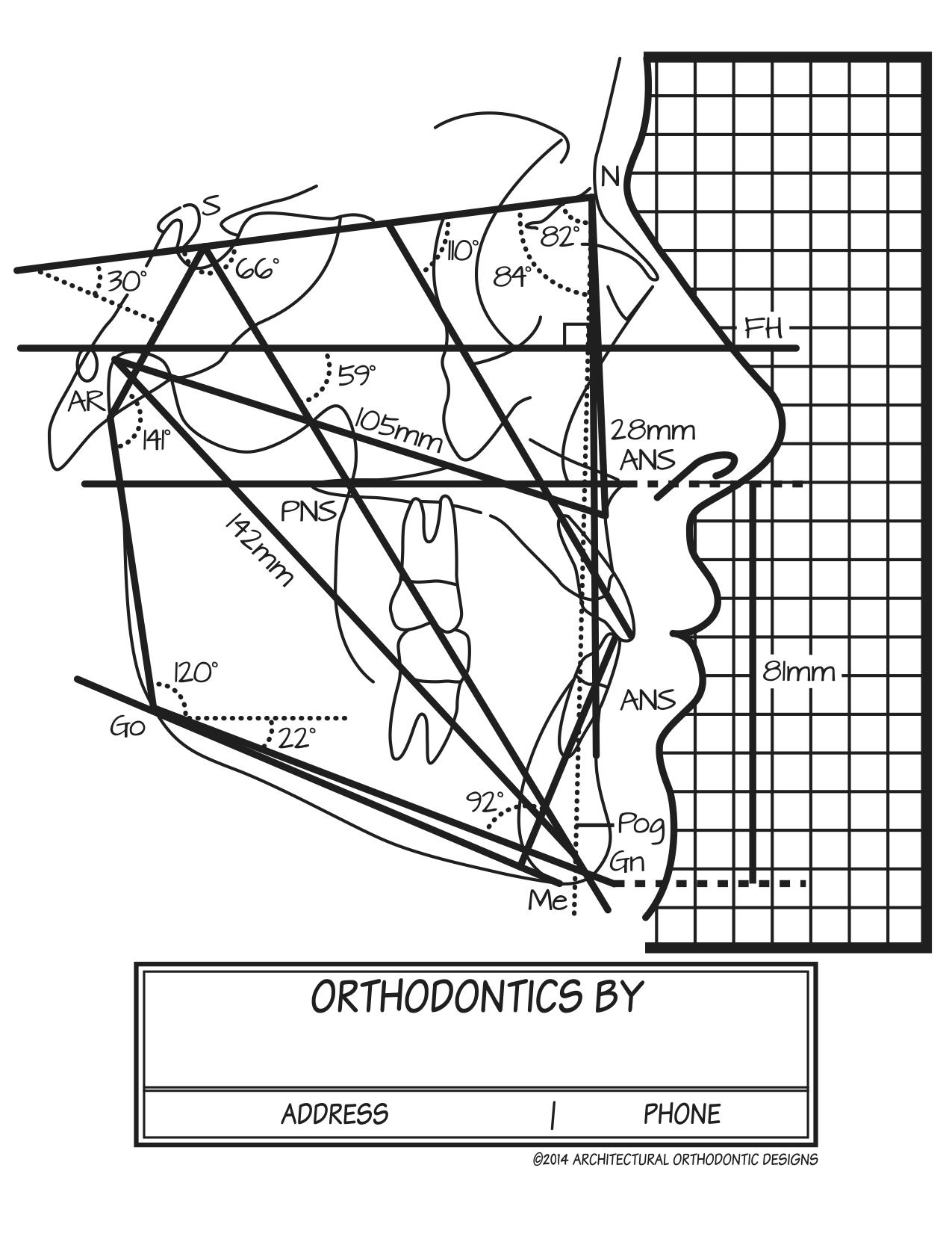 AOD Original Cephalometric View Design | Original Shirt Designs ...
