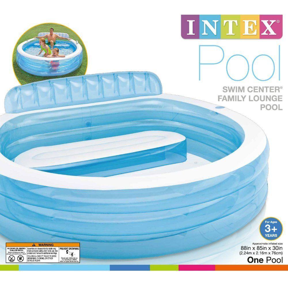 Stunning Amazon Intex Swim Center Inflatable Family Lounge Pool X