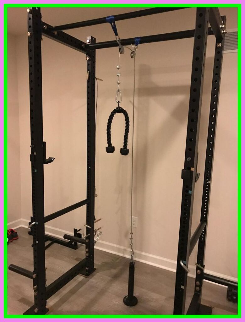 123 Reference Of Northern Lights Power Rack With Lat Pulldown Home Gym Basement Home Made Gym Diy Home Gym