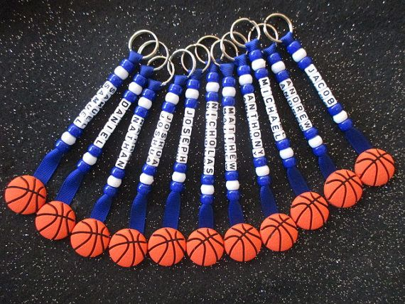 Netball End Of Season Team Gifts Personalized Key Chain
