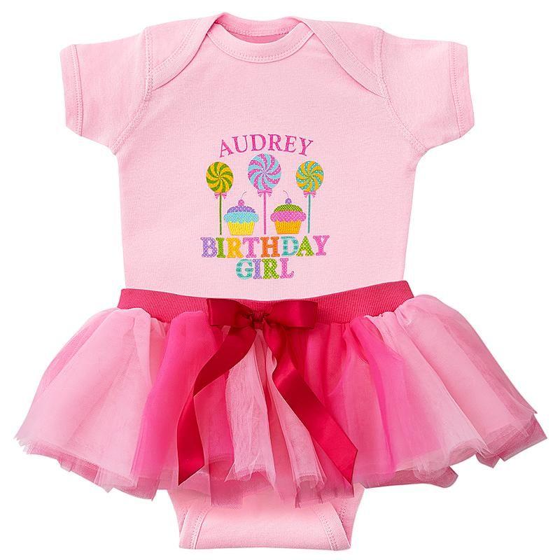Candyland Birthday Girl Bodysuit & Tutu
