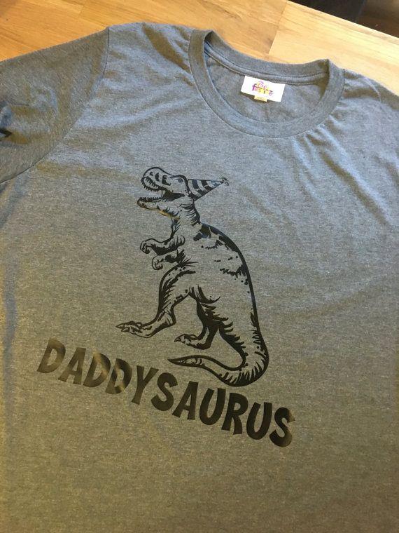 85849d11 Dinosaur birthday shirt 2 Adult shirts T-Rex by BeFestive on Etsy