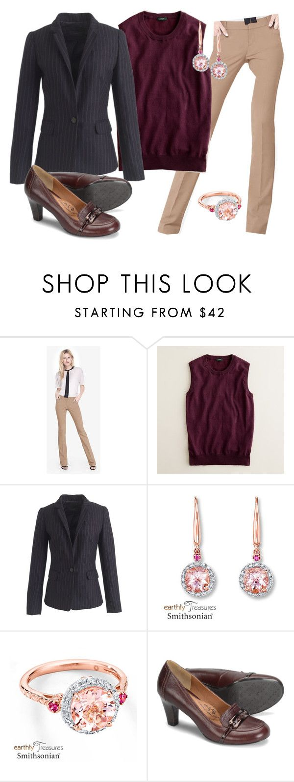 """""""Work 10/13/16"""" by gymrat1279 ❤ liked on Polyvore featuring J.Crew and Söfft"""
