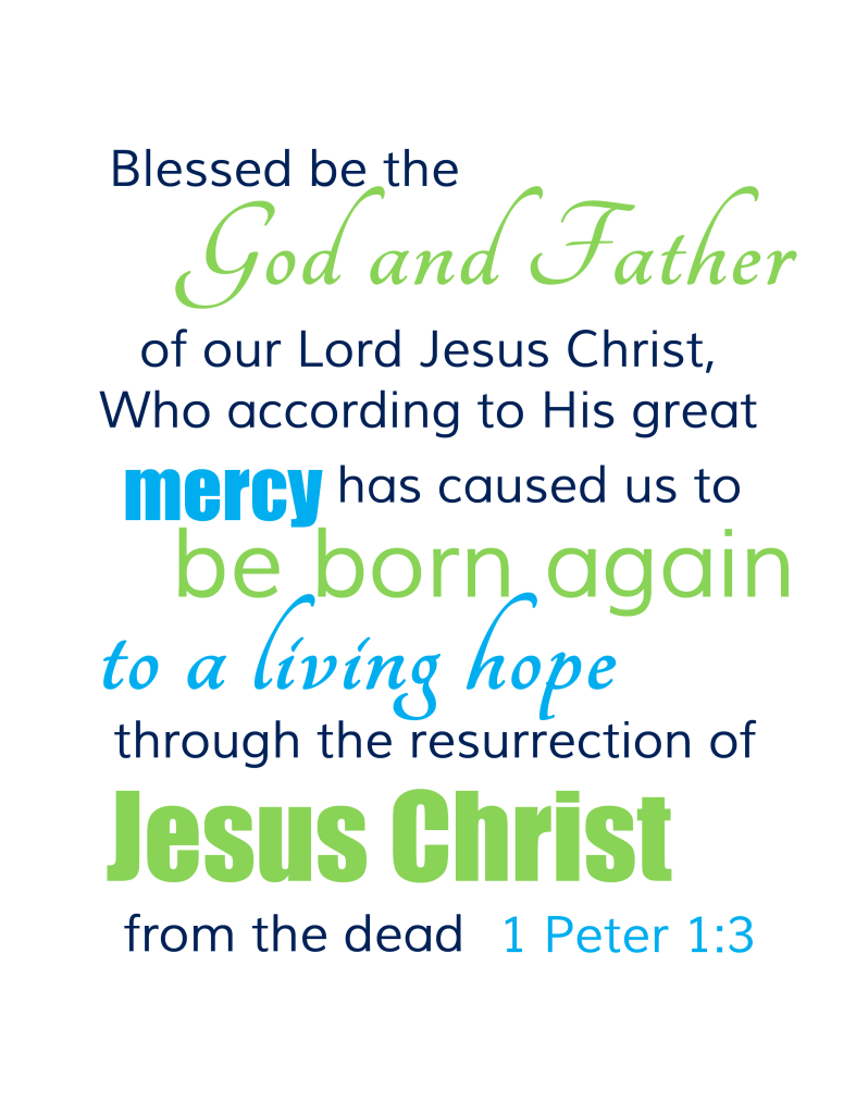 Download Free Easter Scripture Verse Printable for Your Home ...
