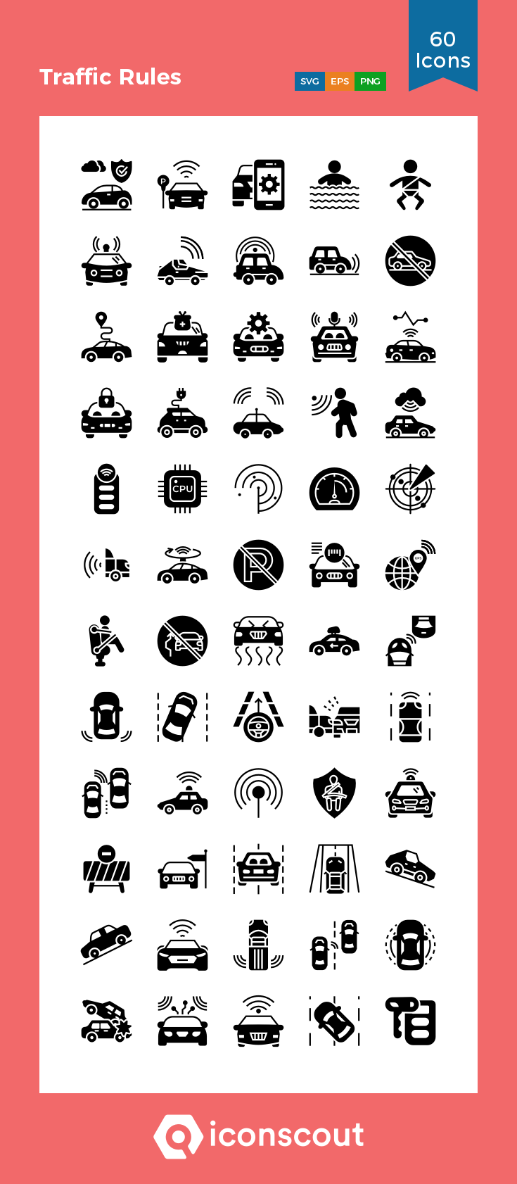 Download Traffic Rules Icon Pack Available In Svg Png Eps Ai Icon Fonts Icon Pack Icon Car Icons