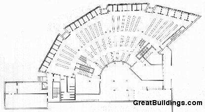 Mount Angel Library Plan Alvar Aalto Arquitectura Y