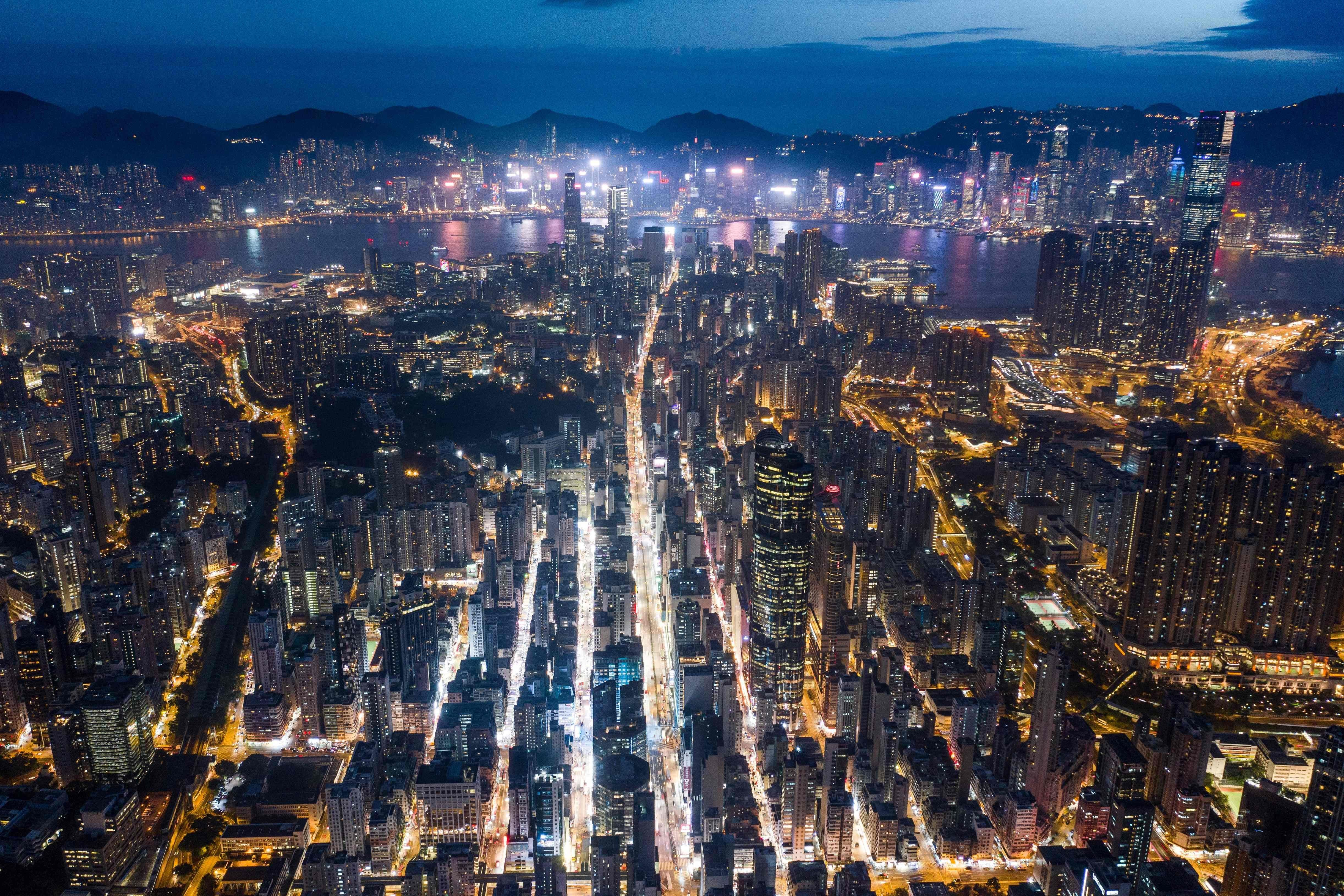 Hong Kong From The Skies In Pictures Aerial View Aerial Hong Kong