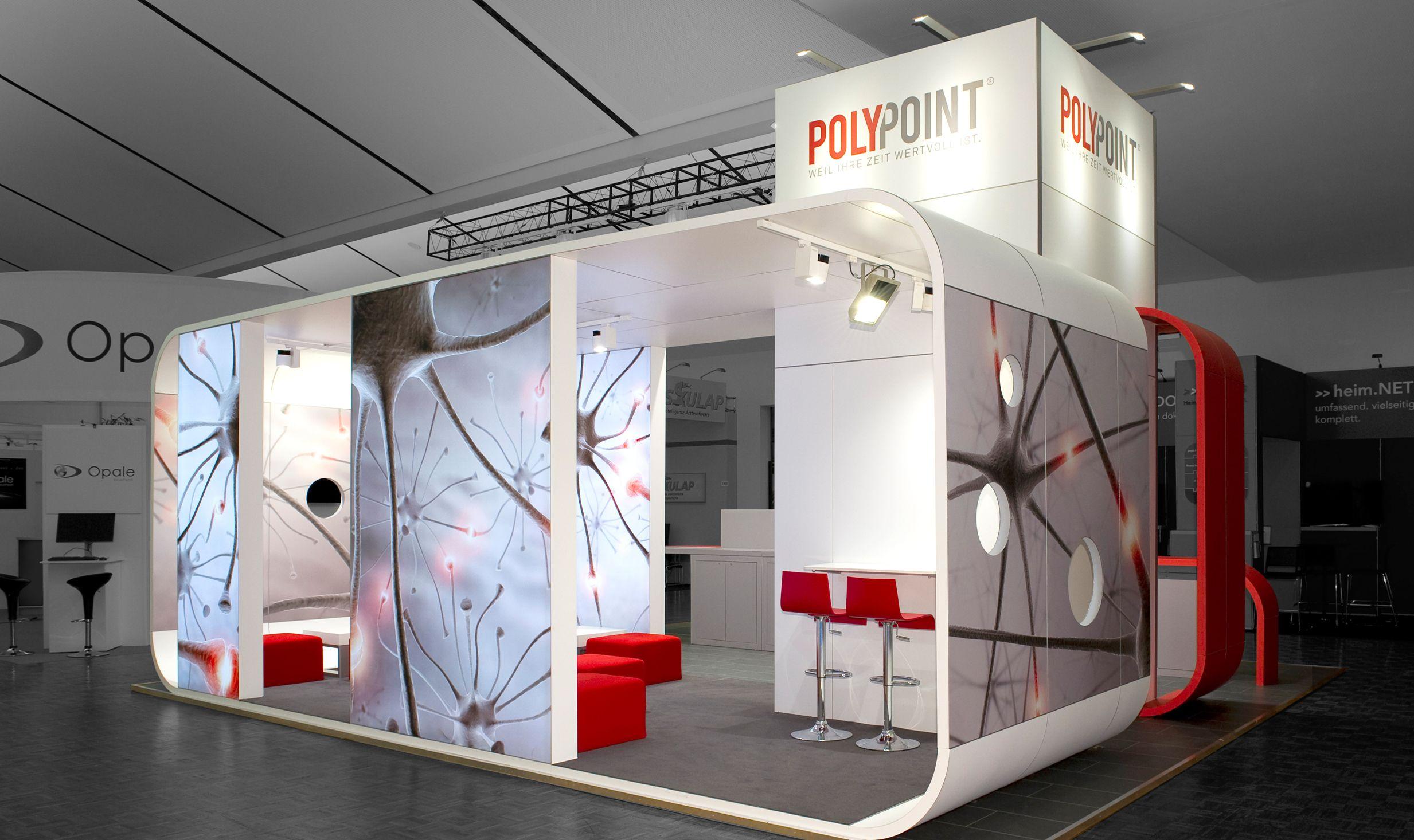 Basic Exhibition Booth : Gebogene wände aluvision booth exhibition design