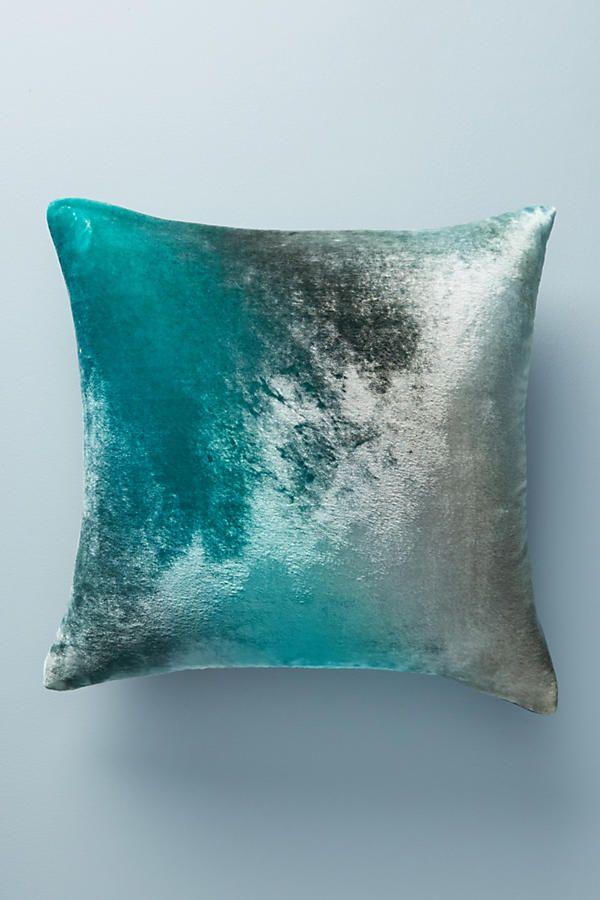 Kevin O Brien Ombre Velvet Pillow Pillows Velvet Pillows Bed Pillows
