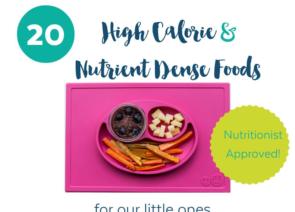 High Calorie & NutrientDense Foods for Kids Kids meals