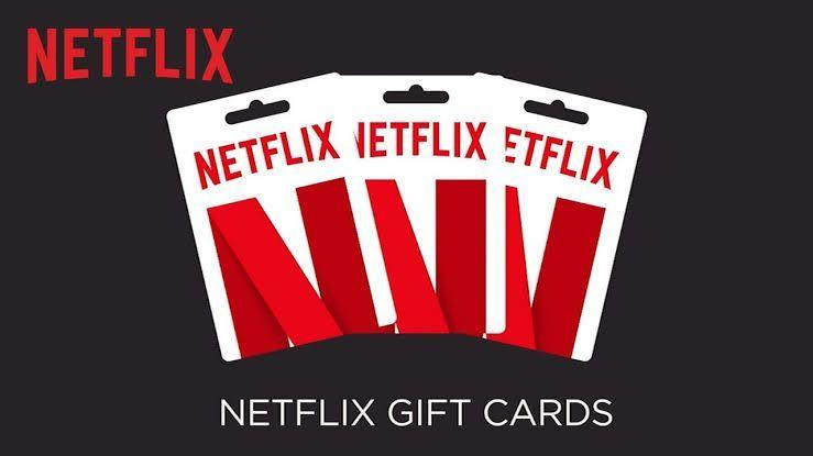 Netflix gift card redeem giveaway netflix gift card