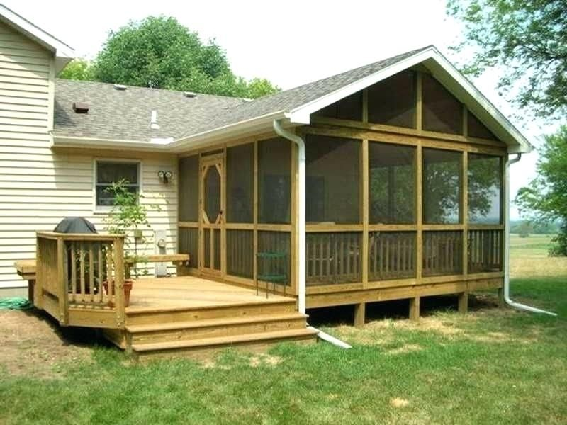 Adding A Back Porch To A Ranch Style Home Google Search Mobile Home Porch Porch Design Back Porch Designs