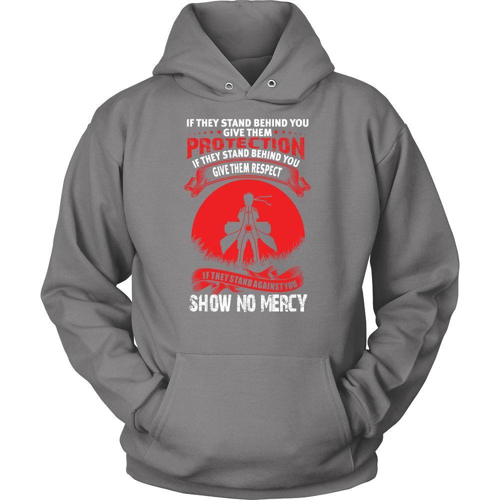 Naruto - Naruto show no mercy - Unisex Hoodie T Shirt - TL00926HO